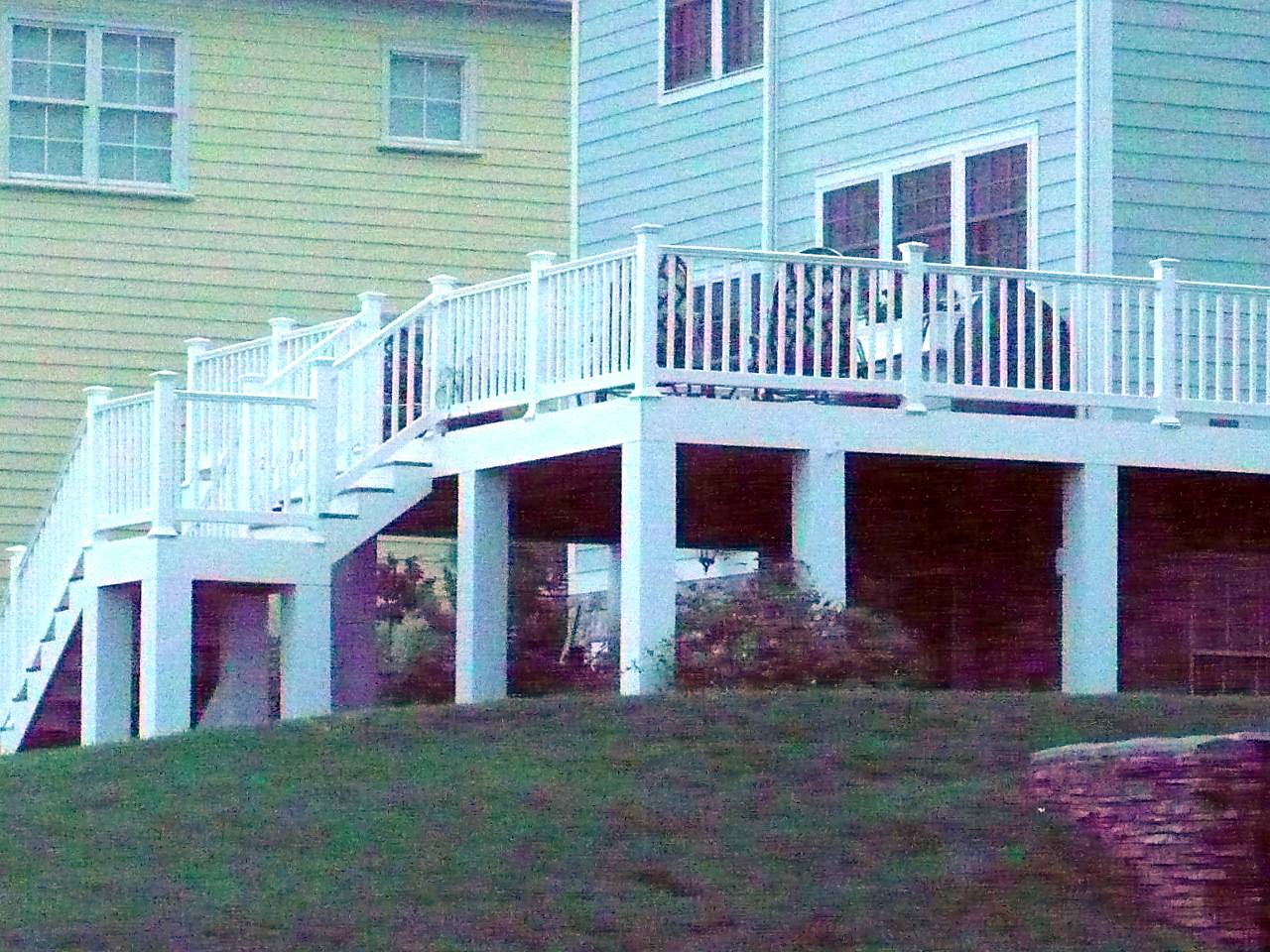 Composite Deck Halco Fence
