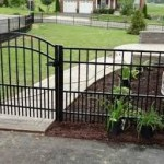 Aluminum fence from Hal Co Fence Company in Leesburg VA