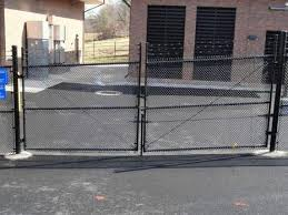Chain Link Security Fence at Leesburg, VA Facility
