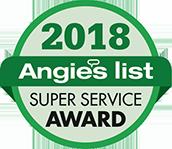 Angies List Super Service Award 2015