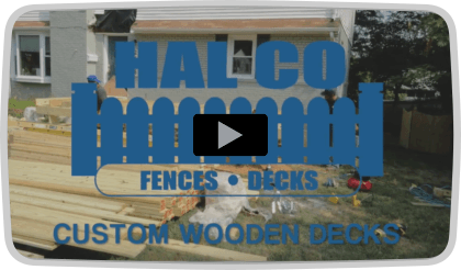 Custom Wooden Decks in Northern Virginia and DC from Hal Co