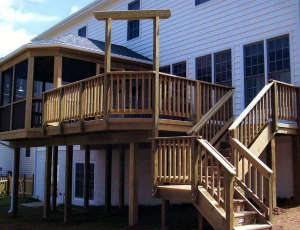 Deck Build Safety Tips Arlington VA