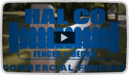 Hal Co Black Aluminum Fence Video