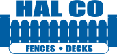 HAL CO Fence & Decks Logo