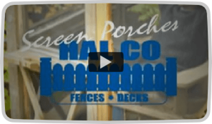 Hal Co Screen Porch Video