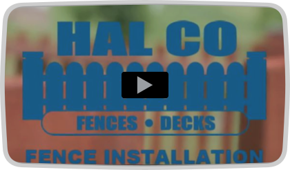 Northern Virginia Fence Installation from Hal Co