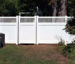 Professionally built fence in Reston, VA