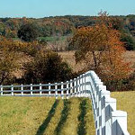 White Vinyl Fence - American Fence