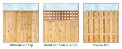 Privacy Fence Design. Wooden Privacy Fence Designs Design N