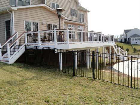 Custom Deck Installed at Gainesville, VA Home