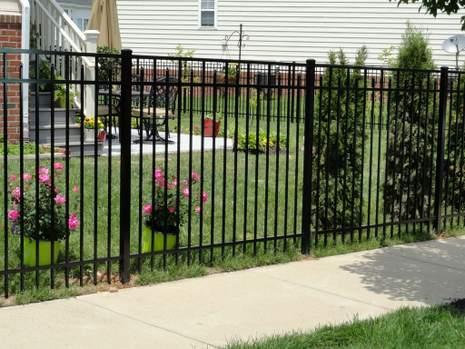 Leesburg Fence Company Installed Aluminum Fence