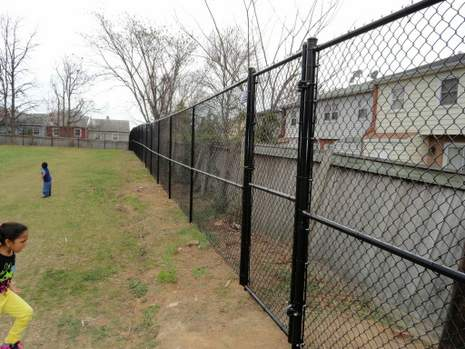 Chainlink Fence at Northern Virginia Park