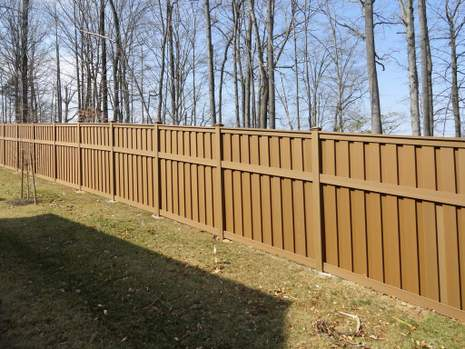 Vinyl Fence Installed in Burke, VA
