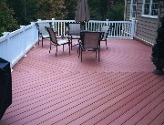 Composite Deck in Arlington, VA Built by HAL CO Deck Contractor
