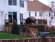 Deck in Arlington, VA Built by HAL CO Deck Contractor
